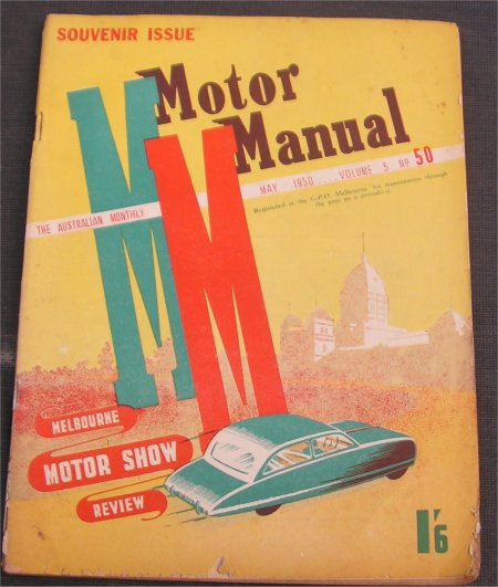 MM 1950/05 1950 SHOW ISSUE