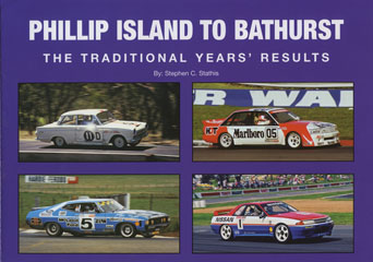 NEW PHILLIP ISLAND BATHURST TRADITIONAL YEARS RESULTS HARDCOVER