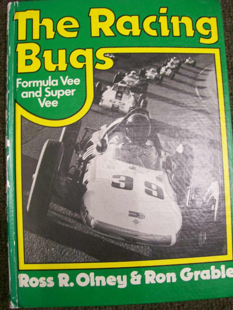 THE RACING BUGS FORMULA & SUPER VEE RARE BOOK OLNEY & GRABLE