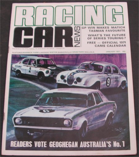 RACING CAR NEWS 1971/01