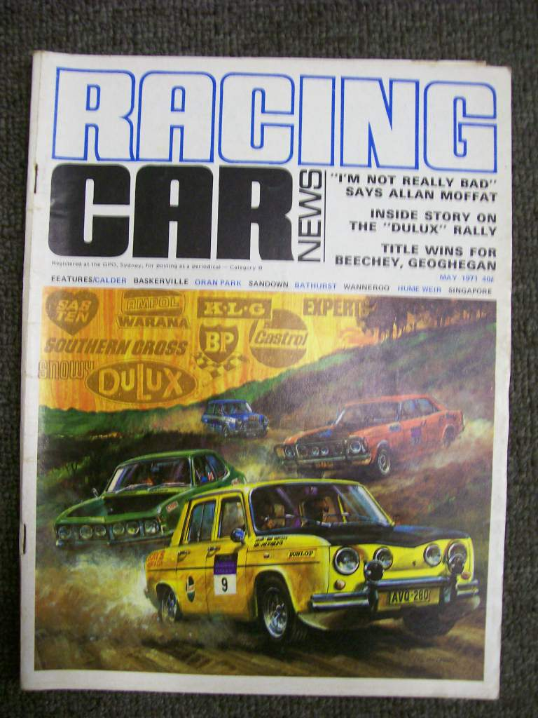 RACING CAR NEWS 1971/05