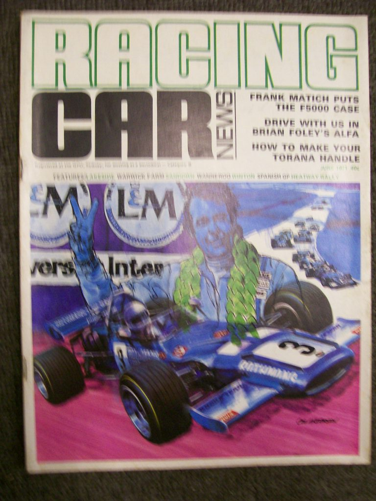 RACING CAR NEWS 1971/06