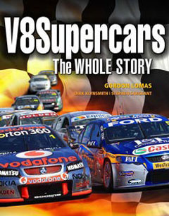 V8 SUPERCARS THE WHOLE STORY HARDCOVER BOOK