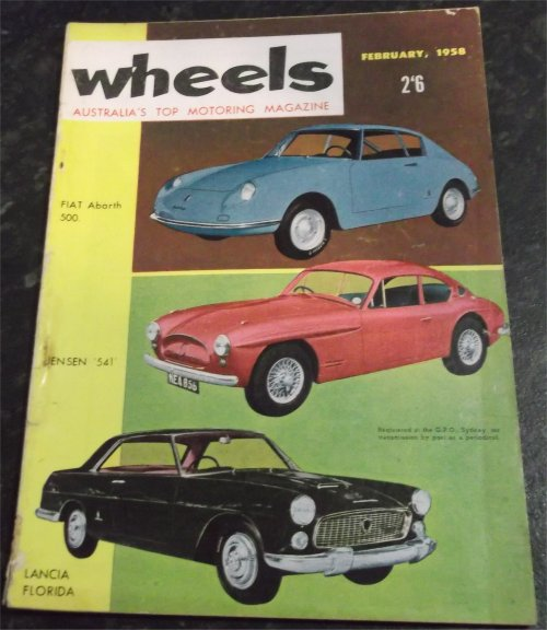 WHEELS 1958/02 HOLDEN FE SUNBEAM RAPIER VANGUARD III