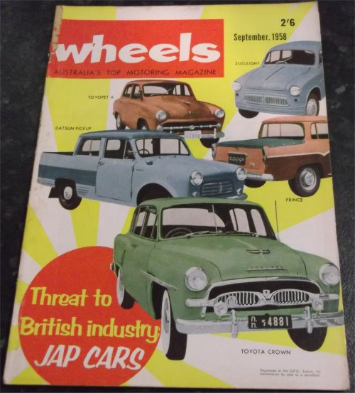 WHEELS 1958/09 MESSERSCHMITT KR200 CHRYSLER IMPERIAL