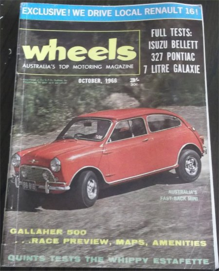 WHEELS 1966/10 ISUZU BELLETT FORD FORD GALAXIE PONTIAC