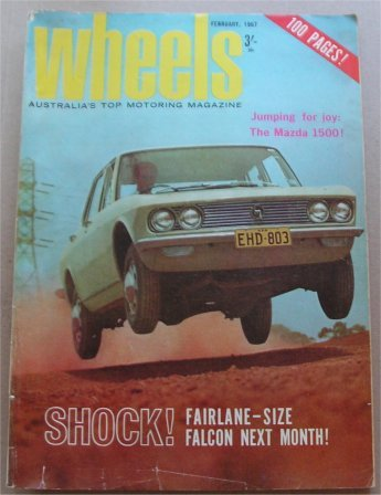 WHEELS 1967/02 ALFA ROMEO GTV fairlane za scoop info